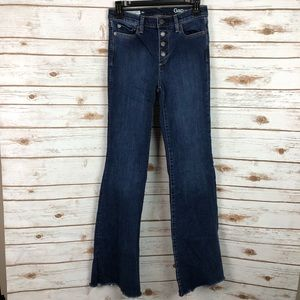 GAP Authentic Flare High Rise Jeans